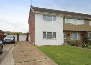Thumbnail 2 bed end terrace house for sale in Penstone Close, Lancing, West Sussex