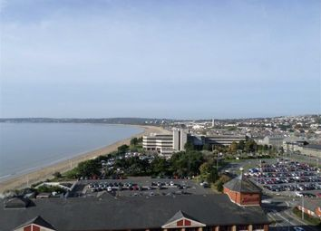 Thumbnail 2 bedroom flat for sale in Meridiantower, Trawler Road, Maritime Quarter Swansea, Swansea