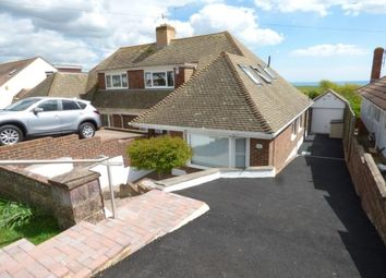 Thumbnail 4 bed bungalow for sale in Rodmell Avenue, Saltdean, East Sussex
