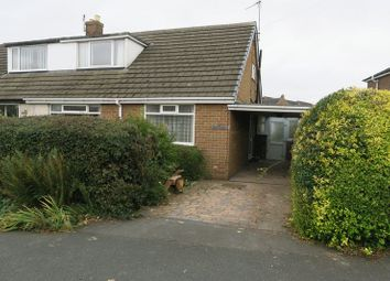 Thumbnail 3 bed semi-detached bungalow for sale in Park Close, Drighlington, Bradford