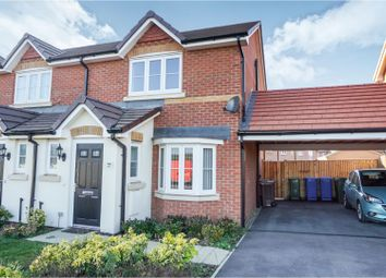 Thumbnail 3 bed semi-detached house for sale in Larch End, Sheerness