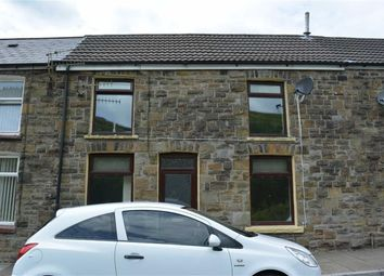 Thumbnail 2 bed terraced house for sale in East Street, Tylorstown, Rhondda Cynon Taff