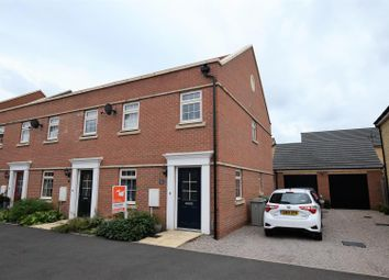 Thumbnail 3 bed terraced house for sale in Paddock Avenue, Barleythorpe, Oakham