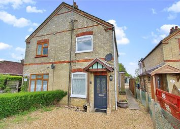 Thumbnail 2 bed semi-detached house for sale in Parkhall Road, Somersham, Huntingdon