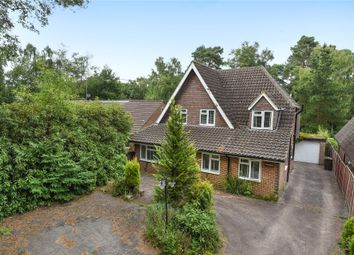 Thumbnail 4 bed detached house for sale in Heath Ride, Finchampstead, Wokingham, Berkshire