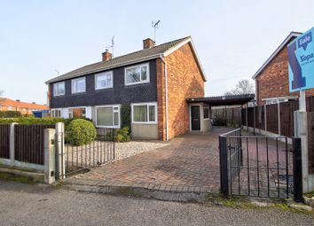 Thumbnail 3 bed semi-detached house for sale in Bawtry Close, Selby