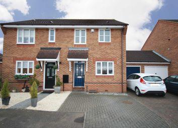 Thumbnail 2 bed semi-detached house to rent in Wraysbury Drive, Laindon, Basildon