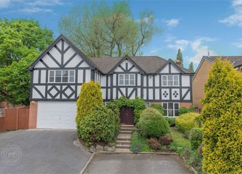 Thumbnail 4 bed detached house for sale in The Moorings, Worsley, Manchester