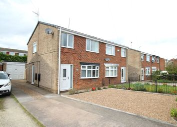 Thumbnail 3 bedroom semi-detached house for sale in St. James Close, Sutton-On-Hull, Hull
