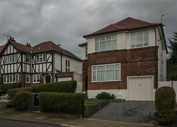Thumbnail 4 bedroom detached house for sale in Eversley Avenue, Wembley, Greater London