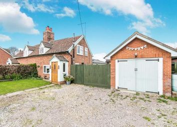 Thumbnail 2 bed semi-detached house for sale in Hintlesham, Ipswich, Suffolk