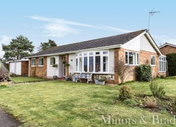 Thumbnail 3 bed detached bungalow for sale in James Road, Horning, Norwich