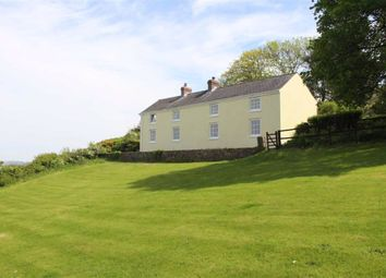 Thumbnail 4 bed detached house for sale in Llanmadoc, Swansea