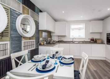 Thumbnail 1 bed flat for sale in Plot 26, Chapel Riverside, Southampton