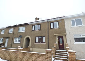 Thumbnail 3 bed terraced house for sale in Leperstone Avenue, Port Glasgow
