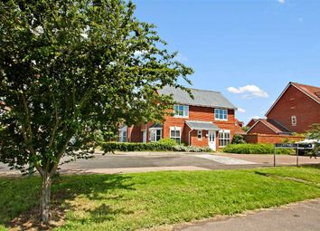 Thumbnail 4 bed link-detached house for sale in Tanners View, Ipswich