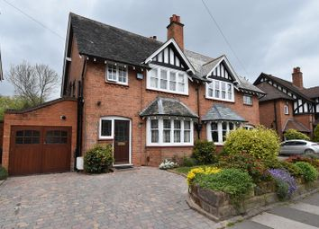 Thumbnail 3 bed semi-detached house for sale in Bournville Lane, Bournville, Birmingham