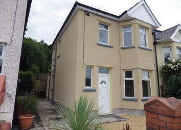 Thumbnail 3 bed semi-detached house to rent in Herbert Avenue, Risca, Newport.