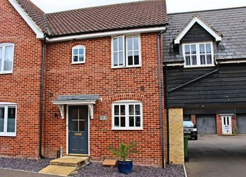 Thumbnail 2 bed terraced house for sale in South Park Drive, Papworth Everard, Cambridge