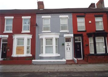 Thumbnail 3 bed terraced house for sale in Romer Road, Liverpool, Merseyside