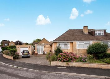 Thumbnail 3 bedroom semi-detached bungalow for sale in Warleigh Drive, Batheaston, Bath