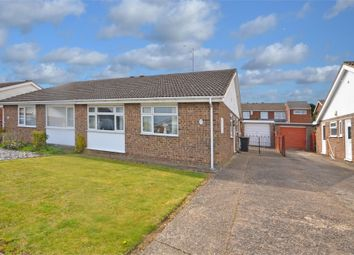 Thumbnail 3 bed semi-detached bungalow for sale in Langham Road, Raunds, Wellingborough, Northamptonshire