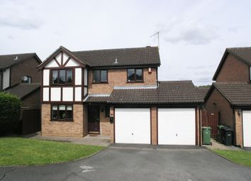 Thumbnail 4 bed detached house for sale in Knarsdale Close, Brierley Hill