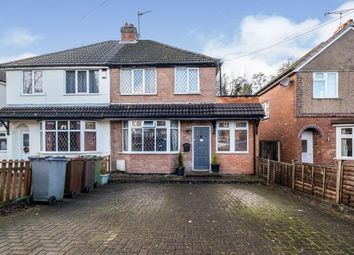 Thumbnail 3 bed semi-detached house for sale in Acheson Road, Shirley, Solihull, West Midlands
