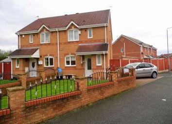 Thumbnail 3 bed semi-detached house to rent in Quayle Close, Haydock, St. Helens
