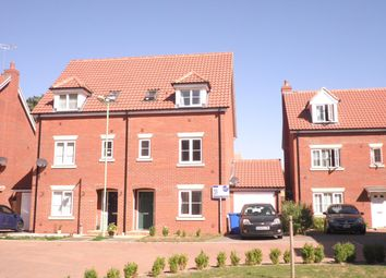 Thumbnail 4 bedroom town house to rent in Yew Tree Close, Mildenhall, Bury St. Edmunds