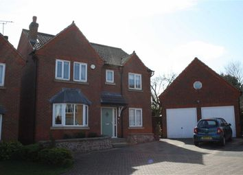 Thumbnail 4 bed detached house for sale in Foxglove Drive, Groby, Leicester