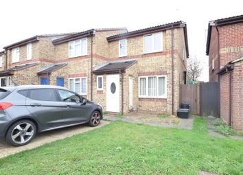 Thumbnail 3 bed end terrace house for sale in Asquith Close, Chadwell Heath, Romford