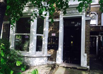 Thumbnail 2 bed flat to rent in Shepherds Bush Road, Brook Green, London