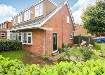 Thumbnail 3 bed semi-detached house for sale in Padstow Close, Macclesfield, Cheshire