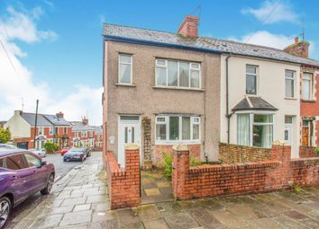 Thumbnail 3 bedroom end terrace house for sale in St. Pauls Avenue, Barry