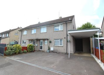 Thumbnail 3 bed semi-detached house for sale in Longstone Road, Chippenham