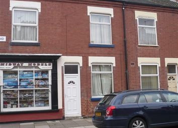 Thumbnail 3 bedroom terraced house to rent in St. Leonards Road, Leicester
