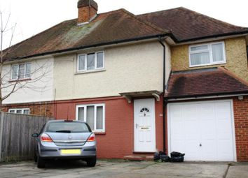 Thumbnail 4 bed semi-detached house to rent in Shepherds Lane, Guildford, Surrey
