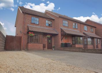 Thumbnail 3 bed end terrace house for sale in White Meadow Close, Craven Arms