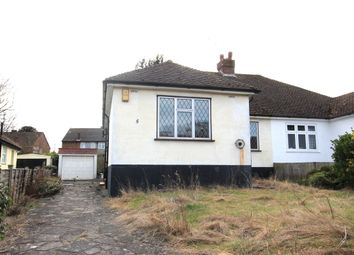 Thumbnail 3 bed bungalow for sale in Woodlands Rise, Swanley