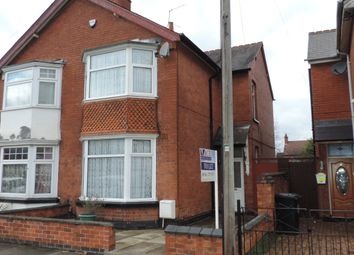 Thumbnail 3 bed semi-detached house to rent in Baden Road, Leicester