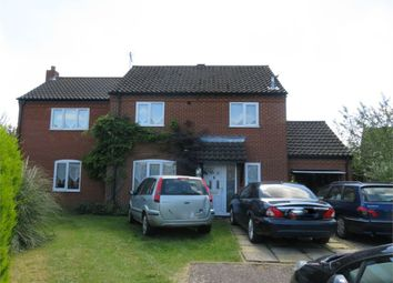Thumbnail 4 bed detached house for sale in Brancaster Way, Swaffham, Norfolk