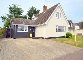 Thumbnail 3 bed detached house for sale in Farmerie Road, Hundon, Sudbury