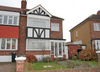 Thumbnail 3 bedroom end terrace house for sale in Glastonbury Avenue, Woodford Green