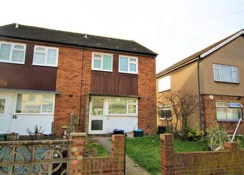 Thumbnail 2 bed semi-detached house to rent in Off Horns Road, Newbury Park, Barkingside, Newbury Park, Barkingside