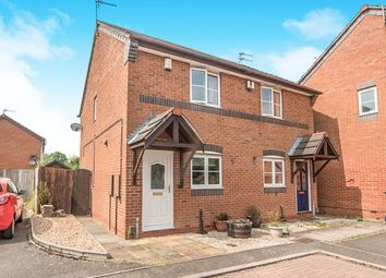 Thumbnail 2 bed semi-detached house for sale in St. Davids Road, Leicester