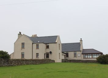 Thumbnail 7 bed detached house for sale in Stromabank Longhope, Hoy Orkney
