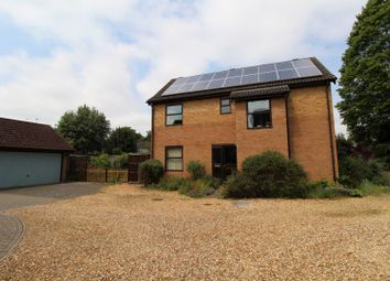 Thumbnail 4 bed detached house for sale in Roes Close, Sawston, Cambridge