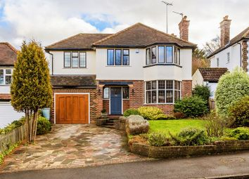 Thumbnail 4 bed detached house for sale in Downsway, Sanderstead, South Croydon