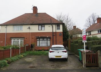 Thumbnail 3 bed semi-detached house for sale in Fenton Drive, Bulwell, Nottingham